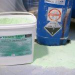 Bindemittel Power-Safe im Einsatz