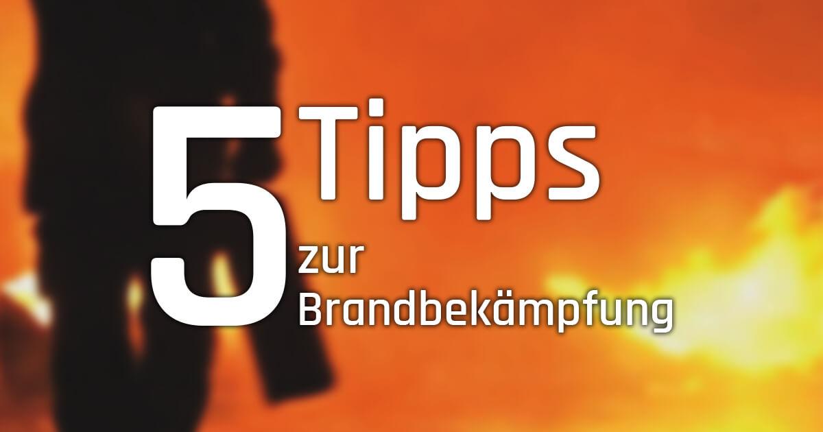 5 Tipps zur Brandbekämpfung und Sicherheit mit Feuerlöschern