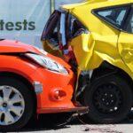 Autounfall im Crashtest Center